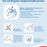 Hygienemaßnahmen